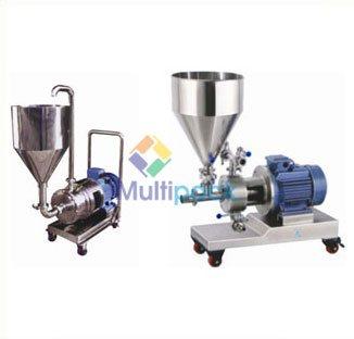 Inline homogenizer, emulsifying mixer, emulsifier mixer